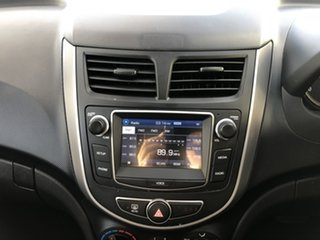 2017 Hyundai Accent RB4 MY17 Active Blue Lagoon 6 Speed Constant Variable Hatchback