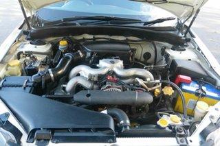 2008 Subaru Impreza G3 MY08 R AWD White 5 Speed Manual Hatchback