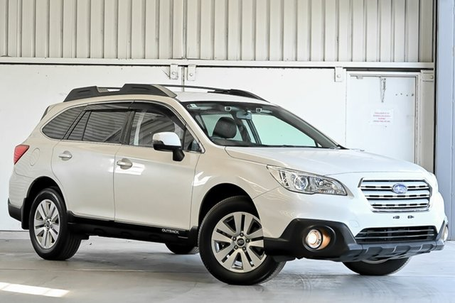 Used Subaru Outback B6A MY17 2.0D CVT AWD Laverton North, 2017 Subaru Outback B6A MY17 2.0D CVT AWD White 7 Speed Constant Variable Wagon