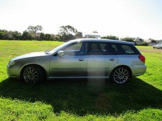 2005 Subaru Liberty MY06 GT Silver 5 Speed Manual Wagon