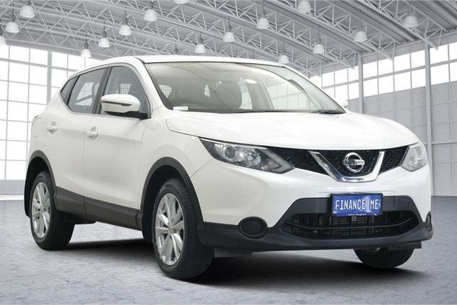 Used Nissan Qashqai J11 ST Victoria Park, 2015 Nissan Qashqai J11 ST White 1 Speed Constant Variable Wagon