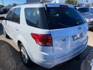 2015 Ford Territory SZ MkII TX Seq Sport Shift Winter White 6 Speed Sports Automatic Wagon.