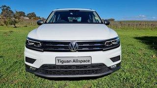 2021 Volkswagen Tiguan 5N MY21 132TSI Comfortline DSG 4MOTION Allspace Pure White 7 Speed.