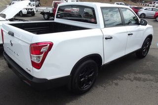2021 Ssangyong Musso Q215 MY21 Ultimate Luxury Crew Cab White 6 Speed Sports Automatic Utility