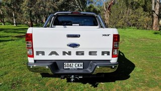 2021 Ford Ranger PX MkIII 2021.2 XLT Arctic White 6 Speed SMD Double Cab Pick Up