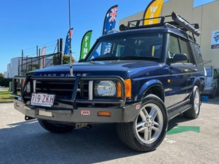 2001 Land Rover Discovery TD5 (4x4) Blue 4 Speed Automatic 4x4 Wagon.