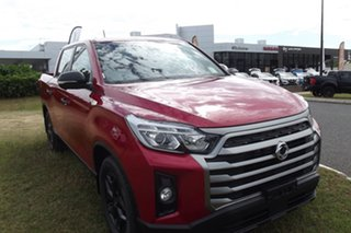 2021 Ssangyong Musso Q215 MY21 Ultimate Crew Cab Red 6 Speed Sports Automatic Utility.