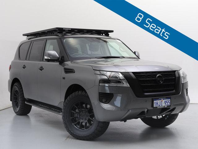 Used Nissan Patrol Y62 Series 5 MY20 TI (4x4), 2020 Nissan Patrol Y62 Series 5 MY20 TI (4x4) Grey 7 Speed Automatic Wagon