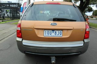 2005 Ford Territory SY TX Orange 4 Speed Sports Automatic Wagon