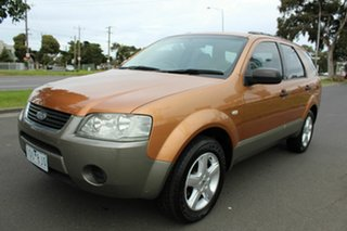 2005 Ford Territory SY TX Orange 4 Speed Sports Automatic Wagon.