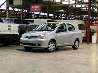 2005 Toyota Echo NCP12R MY03 Silver 4 Speed Automatic Sedan.