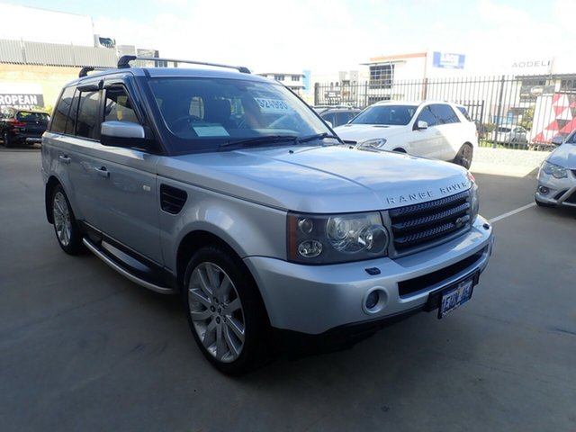 Used Land Rover Range Rover MY08 Sport 2.7 TDV6 Wangara, 2007 Land Rover Range Rover MY08 Sport 2.7 TDV6 Silver Leaf 6 Speed Auto Sequential Wagon