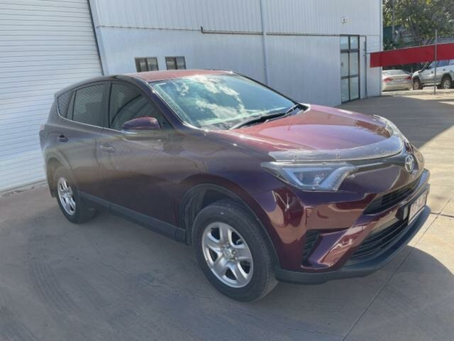 Used Toyota RAV4 ZSA42R MY17 GX (2WD) Emerald, 2017 Toyota RAV4 ZSA42R MY17 GX (2WD) Red Continuous Variable Wagon