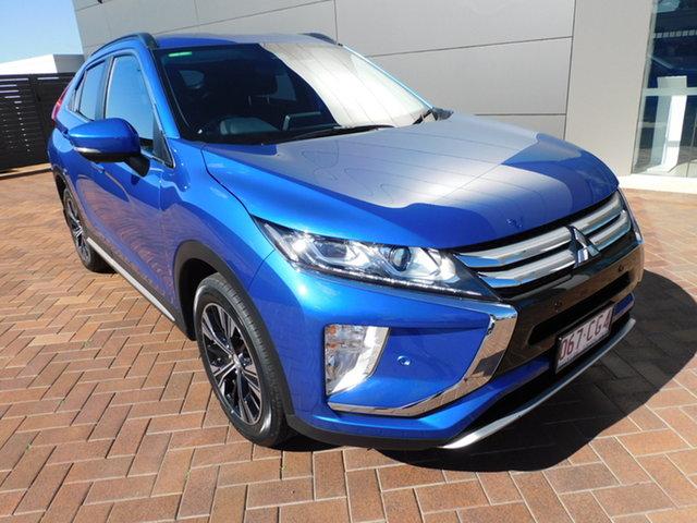 Used Mitsubishi Eclipse Cross YA MY19 LS 2WD Toowoomba, 2019 Mitsubishi Eclipse Cross YA MY19 LS 2WD Blue 8 Speed Constant Variable Wagon