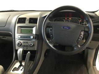2010 Ford Falcon BF Mk III XT White 4 Speed Sports Automatic Wagon