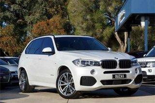 2017 BMW X5 F15 xDrive30d White 8 Speed Sports Automatic Wagon.