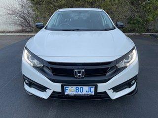 2016 Honda Civic 9th Gen Ser II MY15 VTi-S White 5 Speed Sports Automatic Sedan.