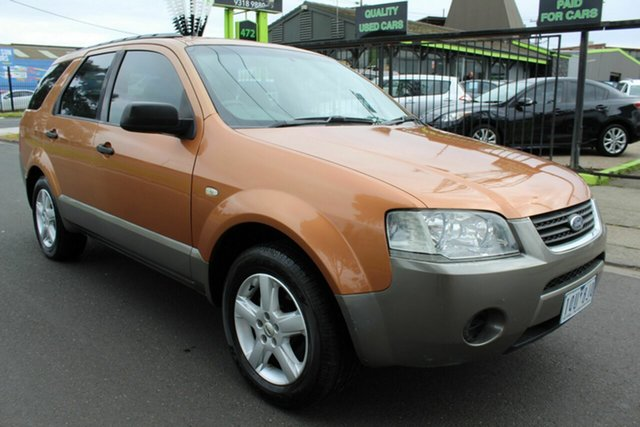 Used Ford Territory SY TX West Footscray, 2005 Ford Territory SY TX Orange 4 Speed Sports Automatic Wagon