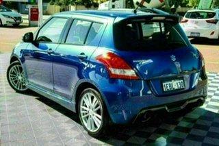 2012 Suzuki Swift FZ Sport Blue 7 Speed Constant Variable Hatchback.