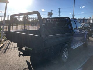 2009 Holden Colorado RC MY09 LX (4x4) Blue 5 Speed Manual Crew Cab Chassis.