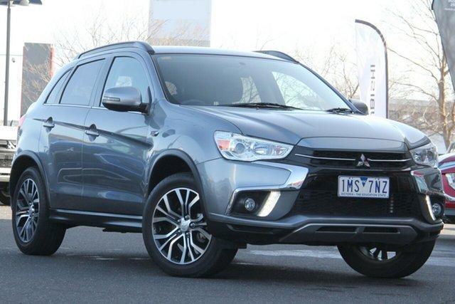 Used Mitsubishi ASX XC MY18 LS 2WD Essendon North, 2018 Mitsubishi ASX XC MY18 LS 2WD Grey 1 Speed Constant Variable Wagon