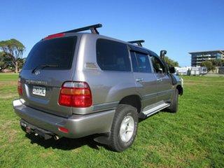 2001 Toyota Landcruiser FZJ105R GXL (4x4) Grey 4 Speed Automatic 4x4 Wagon