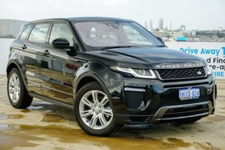 2016 Land Rover Range Rover Evoque L538 MY17 HSE Dynamic Black 9 Speed Sports Automatic Wagon.