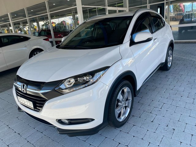Used Honda HR-V VTi-S Taree, 2018 Honda HR-V VTi-S White Constant Variable Hatchback
