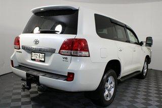 2009 Toyota Landcruiser VDJ200R Sahara White 6 Speed Sports Automatic Wagon.