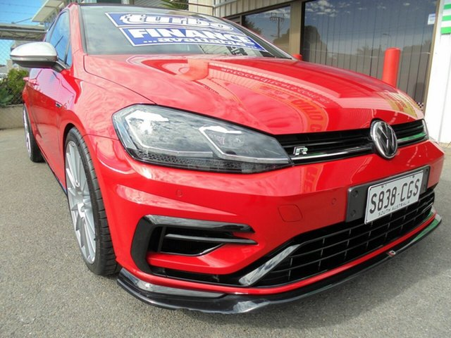 Used Volkswagen Golf 7.5 MY19 R DSG 4MOTION Edwardstown, 2018 Volkswagen Golf 7.5 MY19 R DSG 4MOTION Red 7 Speed Sports Automatic Dual Clutch Hatchback