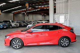 2017 Honda Civic 10th Gen MY17 VTi-S Red 1 Speed Constant Variable Hatchback