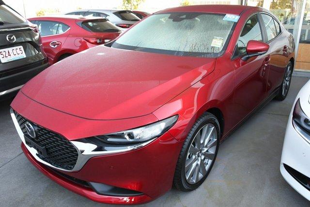 New Mazda 3 BP2S7A G20 SKYACTIV-Drive Evolve Liverpool, 2021 Mazda 3 BP2S7A G20 SKYACTIV-Drive Evolve Soul Red Crystal 6 Speed Sports Automatic Sedan