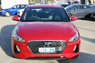 2017 Hyundai i30 PD MY18 SR D-CT Red 7 Speed Sports Automatic Dual Clutch Hatchback.