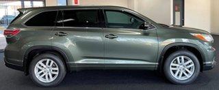 2014 Toyota Kluger GSU50R GX 2WD Green 6 Speed Sports Automatic Wagon.