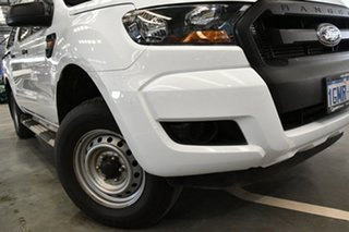 2018 Ford Ranger PX MkII 2018.00MY XL Hi-Rider Cool White 6 Speed Sports Automatic Cab Chassis.