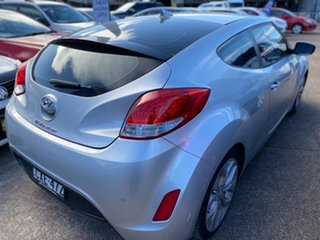 2013 Hyundai Veloster FS2 Coupe D-CT Sleek Silver 6 Speed Sports Automatic Dual Clutch Hatchback