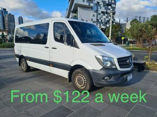 2014 Mercedes-Benz Sprinter NCV3 MY14 316CDI Low Roof MWB 7G-Tronic White 7 Speed Sports Automatic.