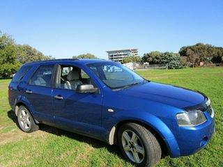 2007 Ford Territory SY MY07 Upgrade TX (RWD) Blue 4 Speed Auto Seq Sportshift Wagon
