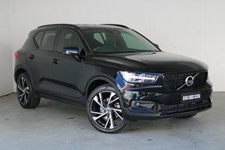 2020 Volvo XC40 XZ MY20 T5 AWD R-Design Black Stone 8 Speed Sports Automatic Wagon.