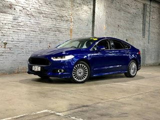 2016 Ford Mondeo MD Titanium Blue 6 Speed Sports Automatic Hatchback.