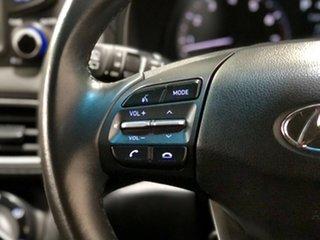 2017 Hyundai Kona OS MY18 Active 2WD White 6 Speed Sports Automatic Wagon
