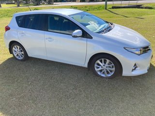 2013 Toyota Corolla ZRE182R Ascent Sport Crystal Pearl 7 Speed CVT Auto Sequential Hatchback