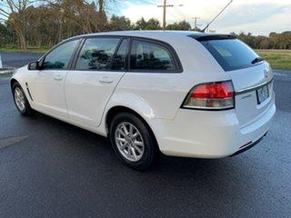 2013 Holden Commodore VF Evoke White Sports Automatic Wagon.