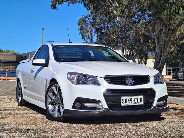 Used Holden Ute VF MY14 SS V Ute St Marys, 2014 Holden Ute VF MY14 SS V Ute White 6 Speed Sports Automatic Utility
