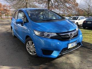 2015 Honda Jazz GF MY15 VTi Blue 1 Speed Constant Variable Hatchback.