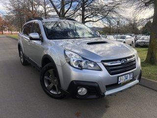 2014 Subaru Outback B5A MY14 2.0D AWD Premium Silver 6 Speed Manual Wagon.
