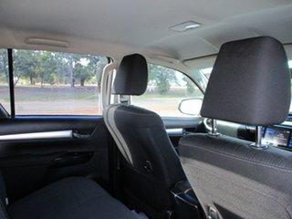 2016 Toyota Hilux GUN126R SR5 (4x4) Crystal Pearl 6 Speed Manual Dual Cab Utility