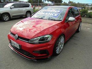 2018 Volkswagen Golf 7.5 MY19 R DSG 4MOTION Red 7 Speed Sports Automatic Dual Clutch Hatchback