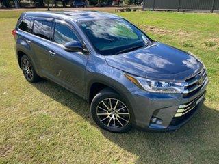 2019 Toyota Kluger GSU50R Grande 2WD Cosmos Blue 8 Speed Sports Automatic Wagon.
