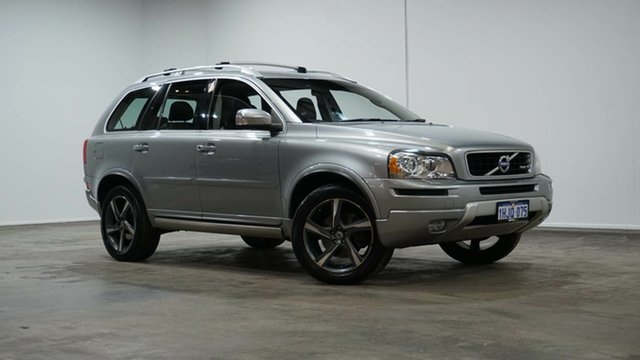 Used Volvo XC90 P28 MY14 R-Design Geartronic Welshpool, 2013 Volvo XC90 P28 MY14 R-Design Geartronic Silver 6 Speed Sports Automatic Wagon